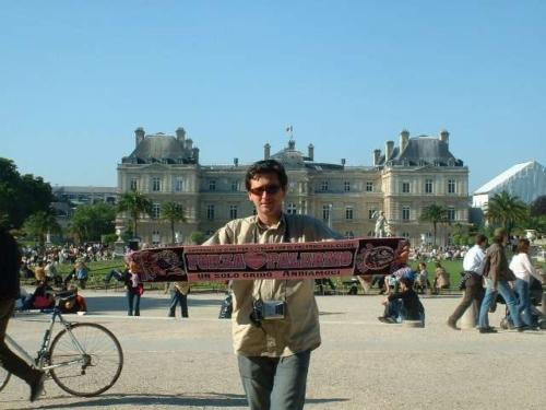 Rosanero fan Parigi   Giardini di Louxembourg EuroPAfs.club