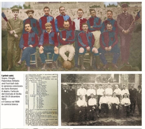 old football palermo 1900