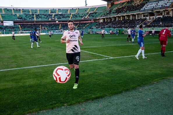 Palermo Alessandro Martinelli forced to retire