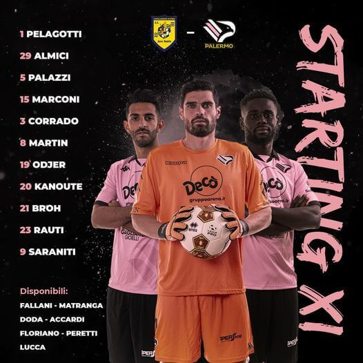 Juve Stabia - Palermo Players