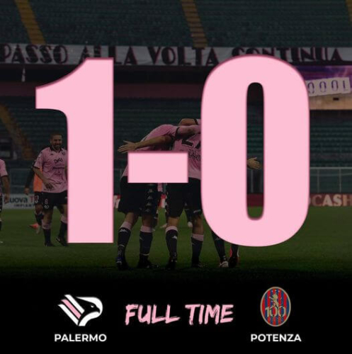 End Full Time Palermo Potenza 1 - 0