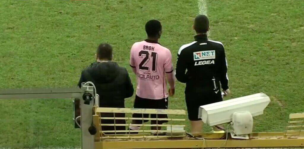 Great match of Palermo change