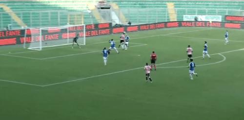 Saraniti Goal 2 Palermo Paganese