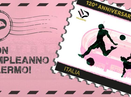 Stamp francobollo Palermo 120 anni