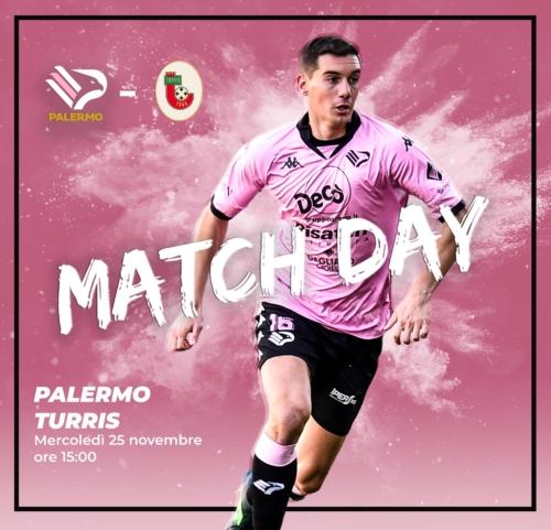 match day Palermo Turris