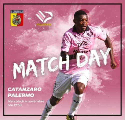 match day Catanzaro Palermo
