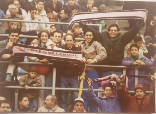 tifosi rosanero anni 80