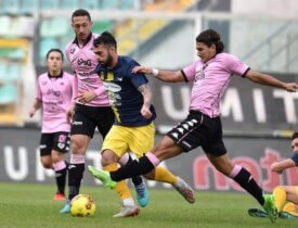 End first half time Palermo Viterbese