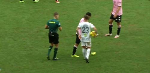 Palazzi yellow card