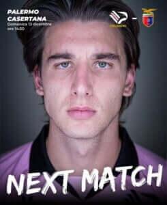 palermo casertana next match