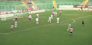 palermo goal disallowed