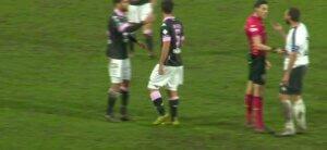 2nd half time cavpal yellow card