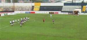 Cav Pal Serie C 1 Half time