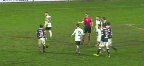 Cavese Palermo 2ndHalftime