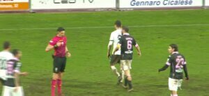 Red Card Cavese Matera out