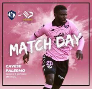 cavese palermo match day