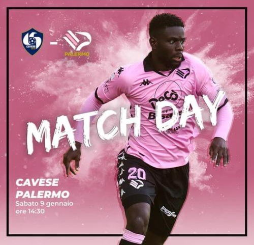 cavese palermo match day