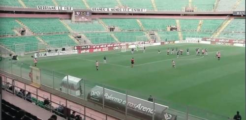 30' 1st halftime 1-1 #palbis #LegaPro