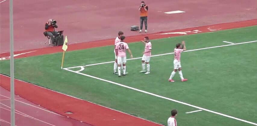 Casertana/Palermo Lucca goal