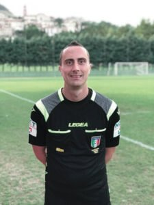 Francesco Luciani arbitro