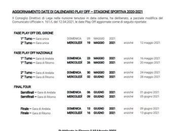 second round playoffs Postponement of dates playoffs