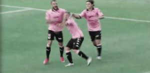 Goooooooaaallll!!!! #FLORIANO #Palermo 1-0 #PalAve #LegaPro #Playoffs
