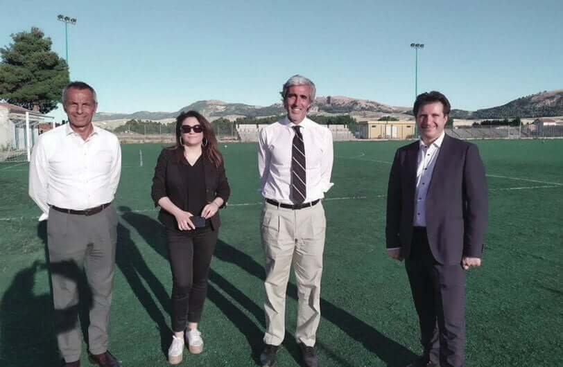 Palermo president sports centre