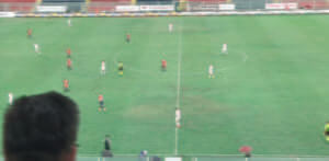 #End #FirstHalfTime #TarPal 1-0 #LegaPro