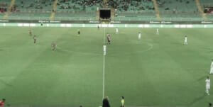 Palermo against campobasso 2nd halftime