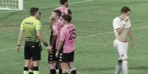 Campobasso penalty againsta palermo home