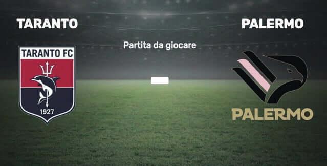 Taranto vs Palermo 3rd day Lega Pro 2022