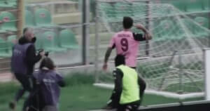 Goooooooaaallll!!!! #FLORIANO #PALFOG #PalermoFoggia 1-0 #LegaPro #SerieC #Palermo #Scores
