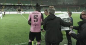 Palermo players changed palfog